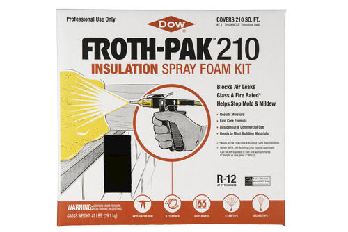 Froth Pak 210 1 75 Pcf Fire Rated Insulation Class A