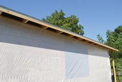 Woven House Wrap 9' x 100'