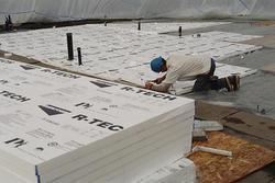 "3/4"" x 4' x 8' R-3 Laminated Expanded Styrene Sheets"