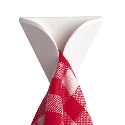 InterDesign 2-Pack White Towel Grabbers