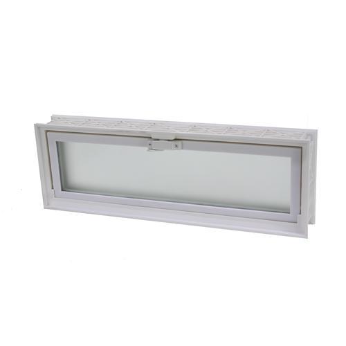 ips 16 x 8 glass block replacement hopper vent at menards. Black Bedroom Furniture Sets. Home Design Ideas