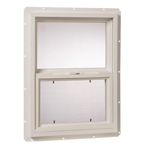 Ips single hung vinyl utility window at menards for 18 x 24 vinyl window