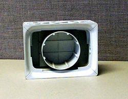 "IPS 8"" x 6"" Glass Block Replacement Dryer Vent"