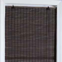 "Intercrown Bamboo Flatstick Natural Woven Wood Shades 72""x72"""
