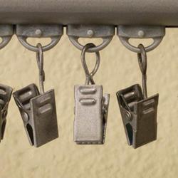 U Design Universal Fabric Clip - Satin Nickel