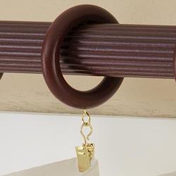 "Intercrown 1 3/8"" Diameter Traditional Wood Rings - Cherry"