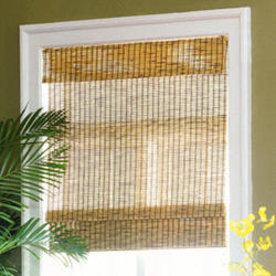 "Intercrown Kea Natural Woven Wood Shades 27""X64"""