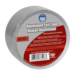 General purpose 1.5 mil, 2 inch x 50 yard, Foil Tape