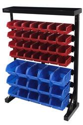 Tool Shop 43-Bin Bench Top Parts Storage Rack
