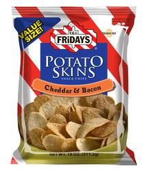 T.G.I. Friday's Cheddar & Bacon Potato Skins - 18 oz Bag