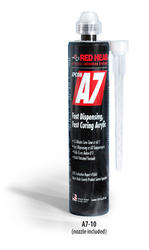 Red Head A7 Adhesive 10 fl oz Cartidge with Nozzle