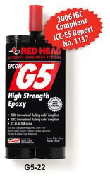 Red Head G5 22 fl. oz. Adhesive Cartridge