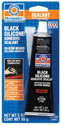 Black Silicone Adhesive