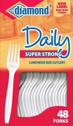 48 Count Plastic Cutlery Forks