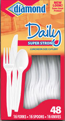 48 Count Assorted Plastic Cutlery
