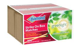 300 Count Diamond Strike-On-Box Matches