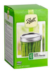 Ball® Wide Mouth Lids and Bands - 12 ct.