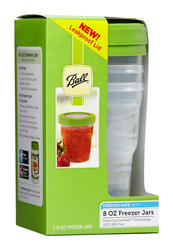 Ball® 8-oz. Plastic Freezer Jars - 3 pk.