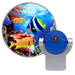 LED Tropical Fish Projectable Night Light