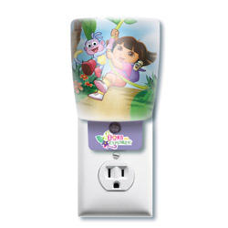 Dora the Explorer Shade LED Automatic Night Light