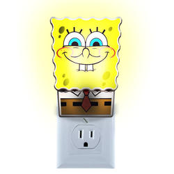 SpongeBob Square Pants Shade LED Automatic Night Light