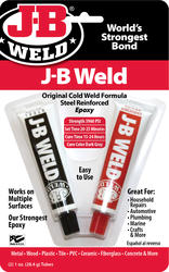 J-B Weld Original Steel-Reinforced Epoxy - 2 oz