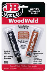 J-B Weld WoodWeld Quick-Setting Wood Epoxy - 2 oz