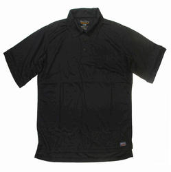 Men's 100% Poly Performance Polo - Black