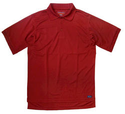 Men's 100% Poly Performance Polo - Red