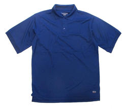 Men's 100% Poly Performance Polo - Twilight Blue