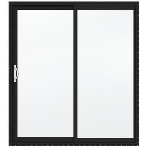 Jeld wen builders series low e 366 left hand vinyl sliding - Menards exterior doors with glass ...