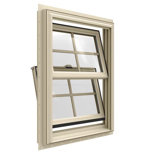Jeld Wen Builders Series Low E 366 Argon Vinyl Double Hung