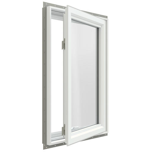 Jeld wen premium series low e 366 argon vinyl casement for Vinyl casement windows
