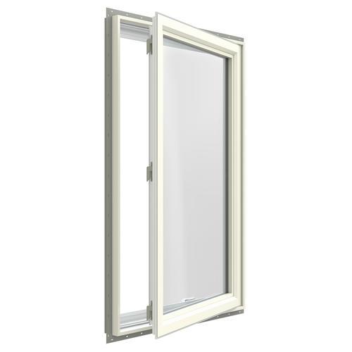 Jeld wen premium series low e 366 argon vinyl casement for Insulated vinyl windows