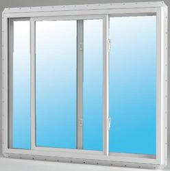 "JELD-WEN® Builders Series 48"" x 36"" White Vinyl Low-E 272 Glass Slider Window"