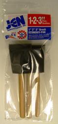 Jen Poly-Brush Foam Paint Brush Pack - 3 ct.