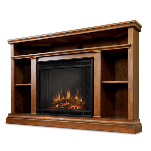 real flame churchill corner electric fireplace entertainment center at menards. Black Bedroom Furniture Sets. Home Design Ideas