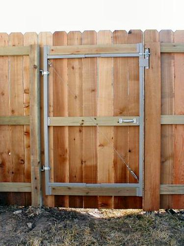 Adjust A Gate Contractor 60 Quot To 96 Quot 3 Rail Gate Kit At