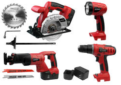 Tool Shop® 18-Volt 4-Piece Combo Kit