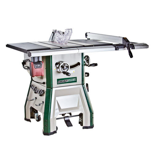 Masterforce 10 In Contractor Table Saw With Mobile Base At Menards