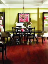 "Dasso African Mahogany Solid Hardwood Flooring 3/4"" x 5"" (16.42 sq.ft/ctn)"