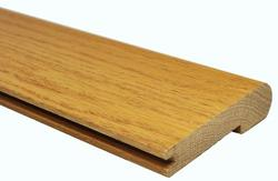 "Hardwood Flooring Stair Nose - Prefinished Superfast Diamond Natural Oak  5/8"" x 78"""