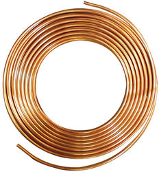 "1/2"" OD (3/8"" ID) x 10' Copper"