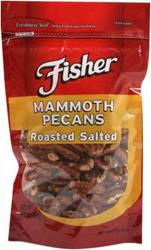 Fisher Mammoth Roasted & Salted Pecans - 4.5 oz