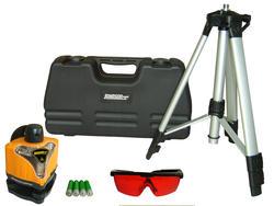 Manual-Leveling Rotary Laser Level Kit