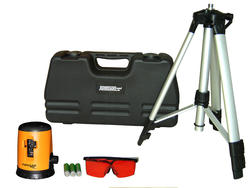 Self-Leveling Cross Line Laser Level Kit