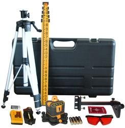 Manual-Leveling Rotary Laser Level Kit