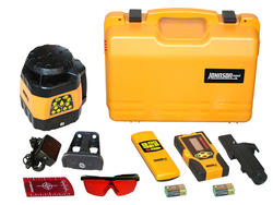 Electronic Self-Leveling Horizontal and Vertical Rotary Laser Kit