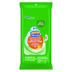 Scrubbing Bubbles Flushable Antibacterial Bathroom Wipes - 28 ct.