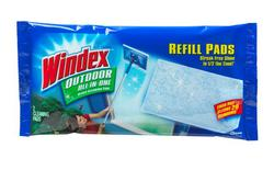 Windex Outdoor All-In-One Glass Cleaning Refill Pads - 2 ct.